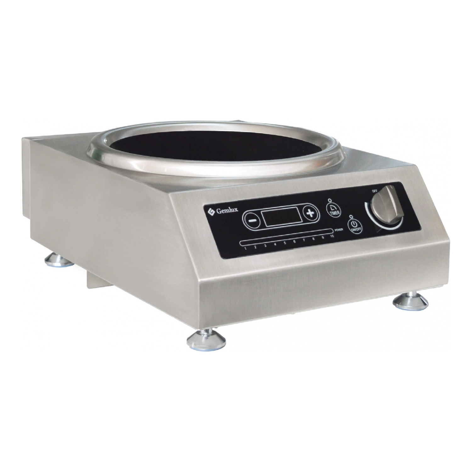 Oven electric GEMLUX GL-IC3100WPRO dmwd mini household electric oven multifunction pizza cake baking oven with 60 minutes timer stainless steel toaster 2 layers 9l
