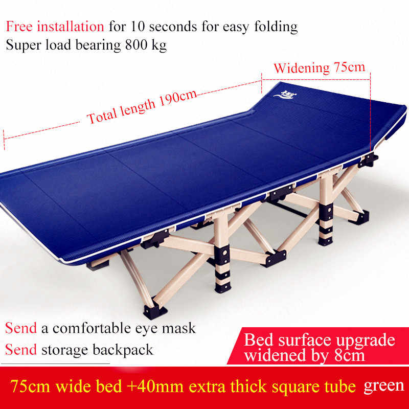 Adjustable Office Daybed Foldable Lounge Chair Portable