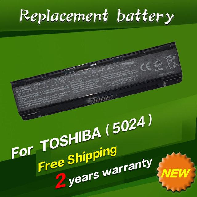 Jigu 4400 mah da bateria do portátil para toshiba pa5024u-1brs pabas259 pabas261 pabas262 pa5023u-1brs pa5025u-1brs pa5026u-1brs