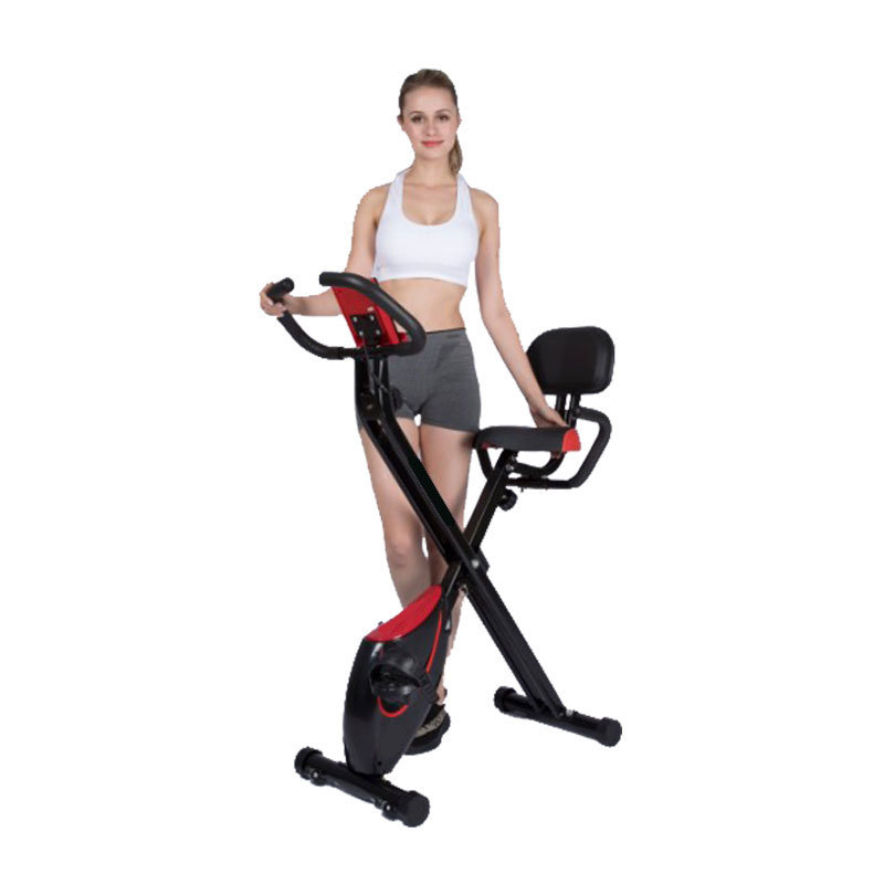 Spinning Bike Weight Loss Home Mini Exercise Bike Magnetron Ultra-quiet Indoor Sports Cycling Bikes Fitness Bicycle Load 120Kg