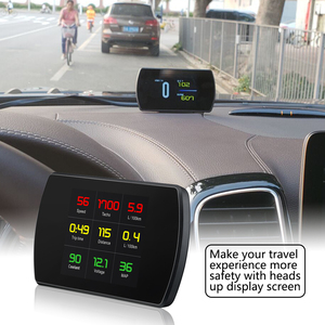 Image 4 - OBDHUD head up display New Auto Diagnostic Tools OBD2 Car Trip On board Computer Speedometer Display Water Temperature RPM
