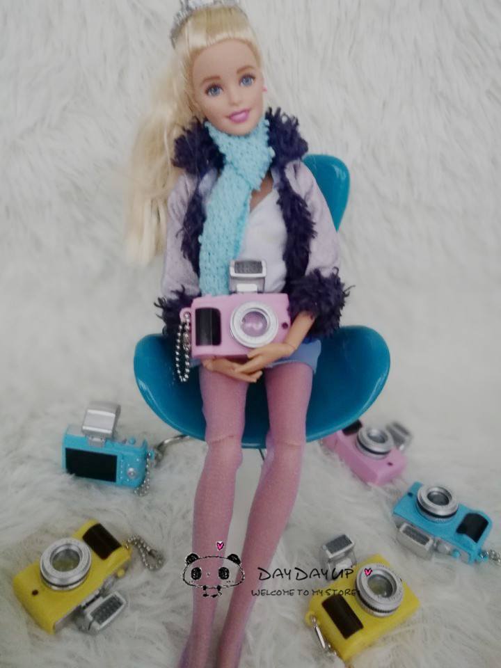 1 Pcs New Camera for BJD Doll 1 / 6 doll camera for blythe,yosd.sd.dd..pullip Fashion Doll accessories Camera for barbie doll image