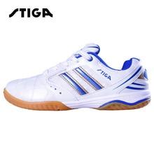 STIGA пинг понг ракетки обувь для настольного тенниса Крытый Спорт Zapatillas Deportivas Mujer мужские устойчивые кроссовки
