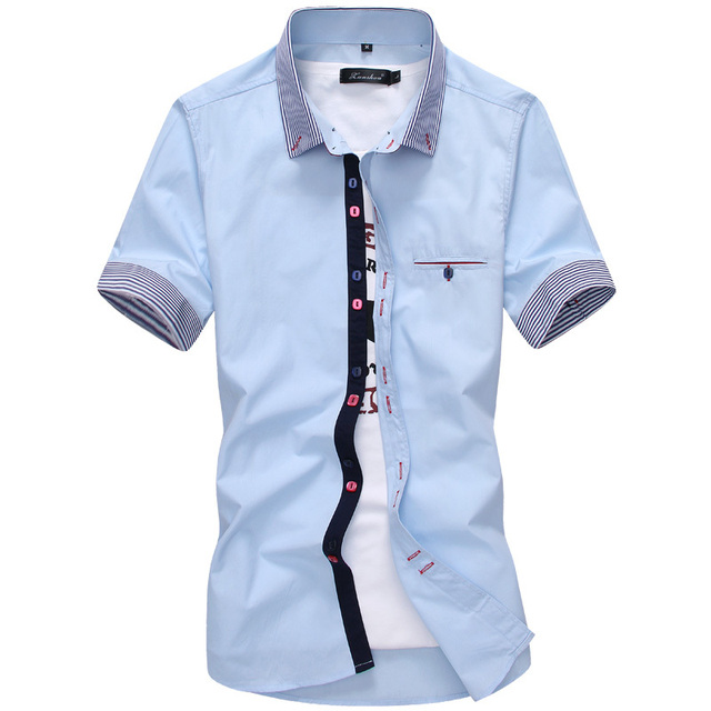 Chemise Homme Manches Courtes 1