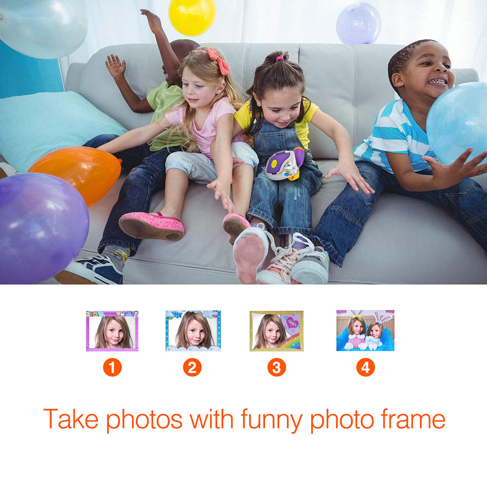 Enfants caméra DVC-7CAM enfants vidéo numérique 5.0 méga haute définition caméra enfants cadeaux d'anniversaire M09