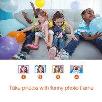 Kids Camera DVC 7CAM Kids Digital Video 5.0Mega High definition Camera Children Birthday Gifts M09