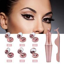 1 Set Magnetic Eyeliner Liquid Magnet False Eyelash Kit Reusable Natural Look Lashes