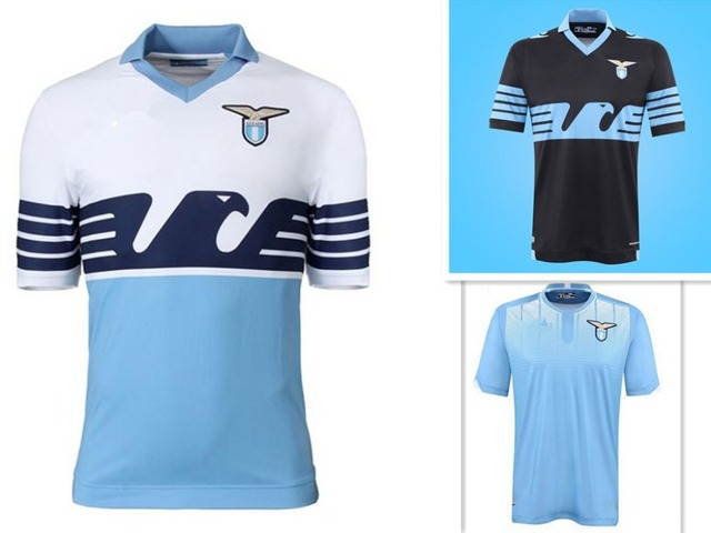 2015 new Lazio Player version jersey 2015 2016 Lazio home football shirt  Klose Candreva Cavanda jersey Lazio soccer jerseys cadfc3bae