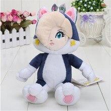 Birthday Toy Gift 18cm Super Mario Bros 3D World Cat Rosalina Princess Plush Dolls Stuffed Animal Plush Toy Decorations