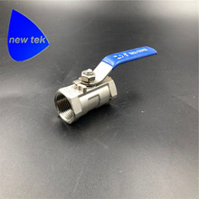 цены Stainless Steel Ball Valve 1PC Type 1 Inch NPT Standard Port for Water, Oil, and Gas (1 Inch Ball Valve)