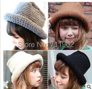 10pcs/lot  free shipping/2015-A238,  high quality,160g/piece Coarse knitting weaving warm hat winter beanies cap Skullies hat free shipping skullies