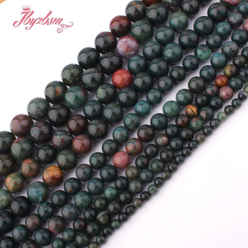 Natural Stone Beads Map Jaspers Round Beads For Jewerly Making Bracelet Necklace Accessories 4 6 8 10 12mm Wholesale Bijoux Various Styles Beads Beads & Jewelry Making