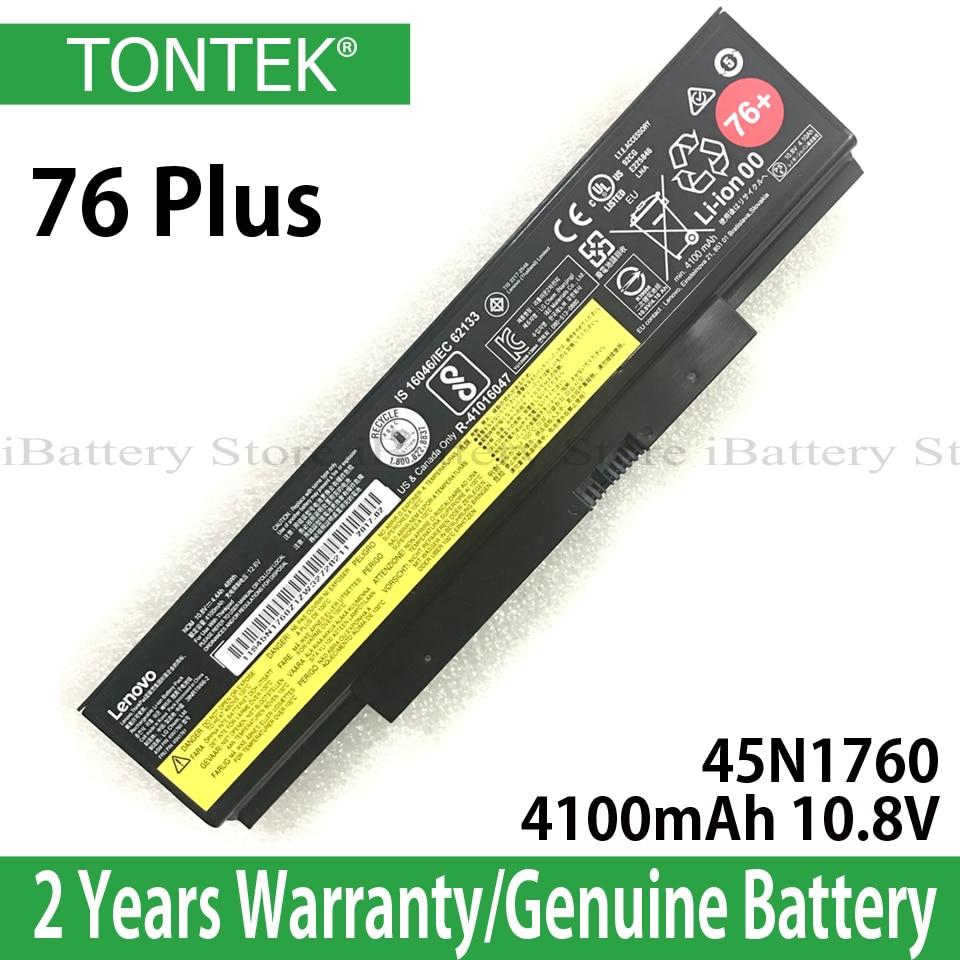 Genuine Bateria Para Lenovo ThinkPad E555 45N1760 E550 E550C E560 E565 45N1761 45N1758 45N1759 45N1762 45N1763 76 + 48Wh