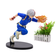 Anime My Hero Academia Todoroki Shoto Bakugo Katsuki Midoriya Izuku Cartoon Model Doll PVC Action Figure Toy Collection Gift все цены