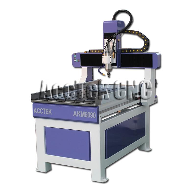 Routeur multifonctionnel de CNC de la machine 6090 CNC pour l'aluminium AKM6090