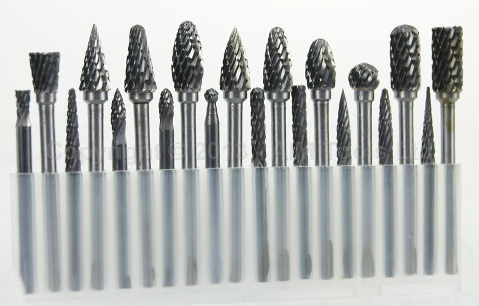 20PCs Die Grinder Carbide Burr Drill Grinding Head 3MM Carving Bit hot sale20 x tungsten steel solid carbide burrs for rotary drill die grinder carving