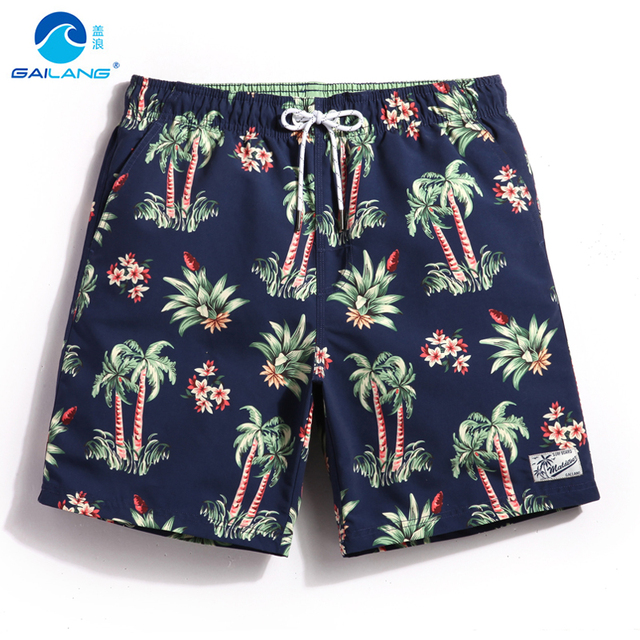 4d07395a791 Gailang couples boardshorts liner sports swimsuit mens beach shorts  swimwear male bathing suit plavky bermudas praia