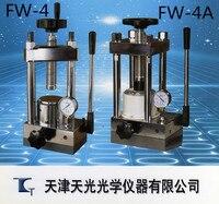 Инфракрасный таблеточный пресс FW 4 маленький ручной порошок спектрометр аксессуары 24 тонны лабораторная форма Skylight