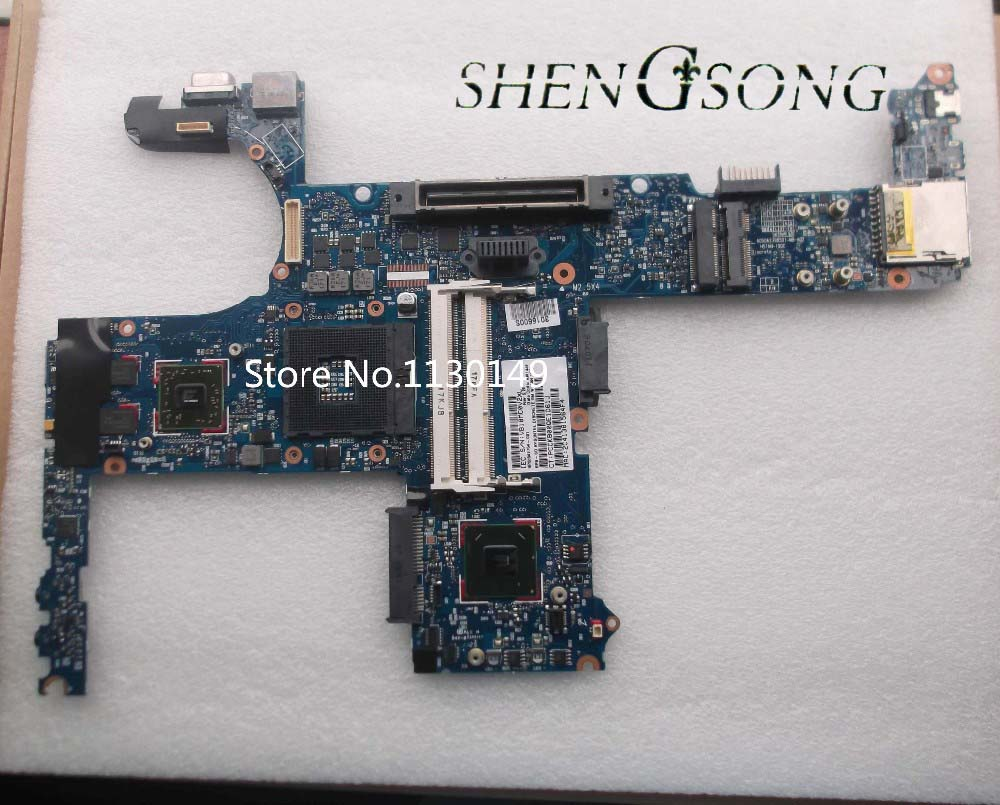 642754-001 Free shipping board for HP 8460p laptop motherboard with intel QM67 chipset 1GB discrete graphics
