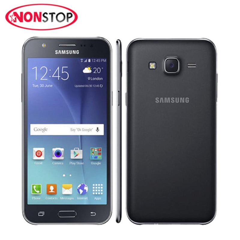 Original Samsung Galaxy J5 J500F Cell Phone Quad Core 5.0 Inch 1.5GB RAM 8GB ROM 13.0MP Unlocked Refurbished Mobile Phone