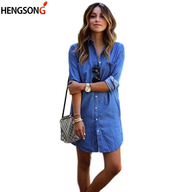 c557932072ef7c ᗑ】 Buy blusa denim feminina and get free shipping - List LED i09