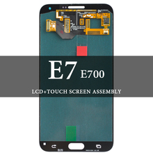 100% Tested For E7 E700 LCD Display AMOLED Screen With Touch Digitizer Assembly For E7 E700 LCD Replacement for gionee elife e7 lcd screen display with white touch screen digitizer assembly by free shipping 100% warranty