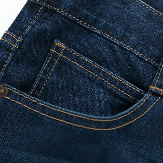 SEMIR jeans for mens slim fit pants classic jeans male denim jeans Designer Trousers Casual skinny Straight Elasticity pants