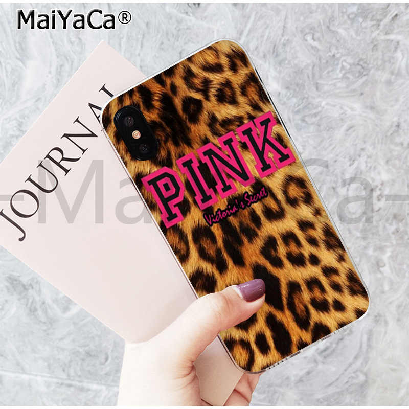 MaiYaCa belle coque de téléphone mode tigre léopard imprimé panthère pour iphone 11 pro 8 7 66S Plus X 5S SE 44S XS XR XS max