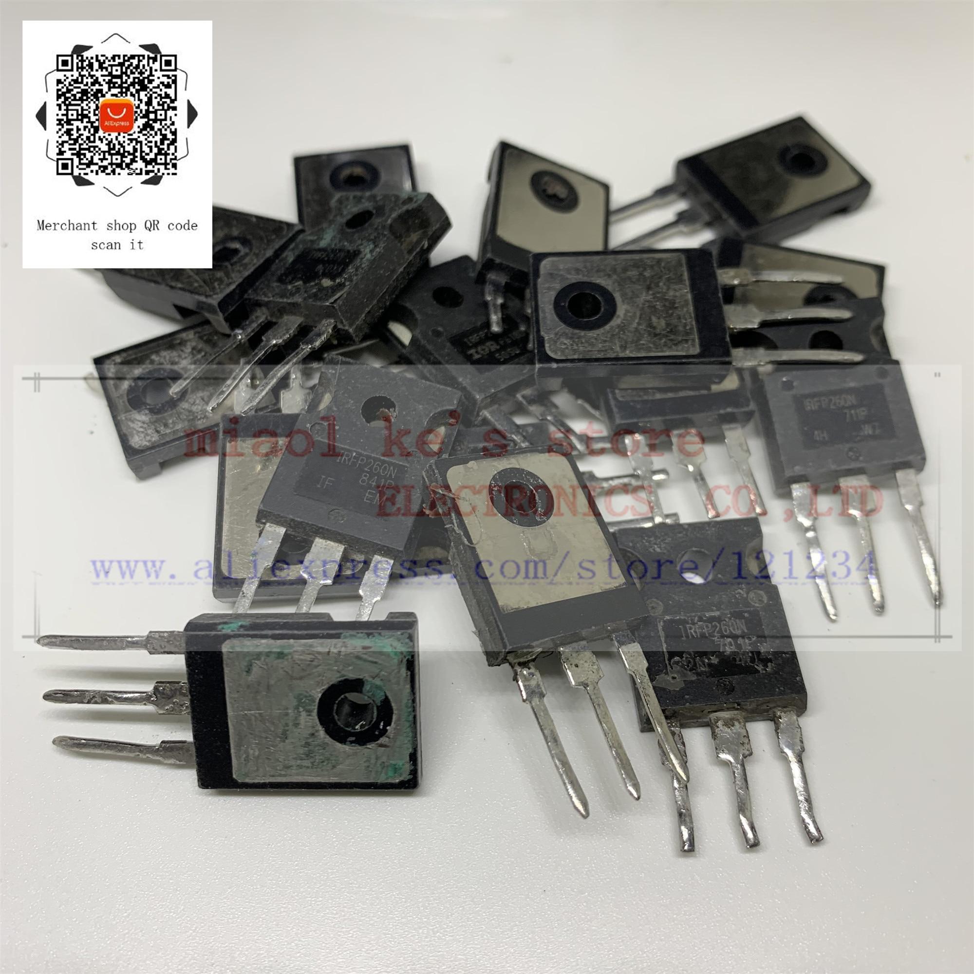 [ 5pcs~10pcs/1lot ] IRFP260 IRFP260N IRFP260NPBF [ Used Goods ]- Through Hole MOSFET N-CH Pval (2068) 200V 50A 300W TO-247AC