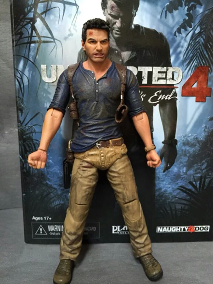 NECA Uncharted 4 A Thief's End NATHAN DRAKE Ultimate Edition PVC Action Figure Collectible Model Toy 7