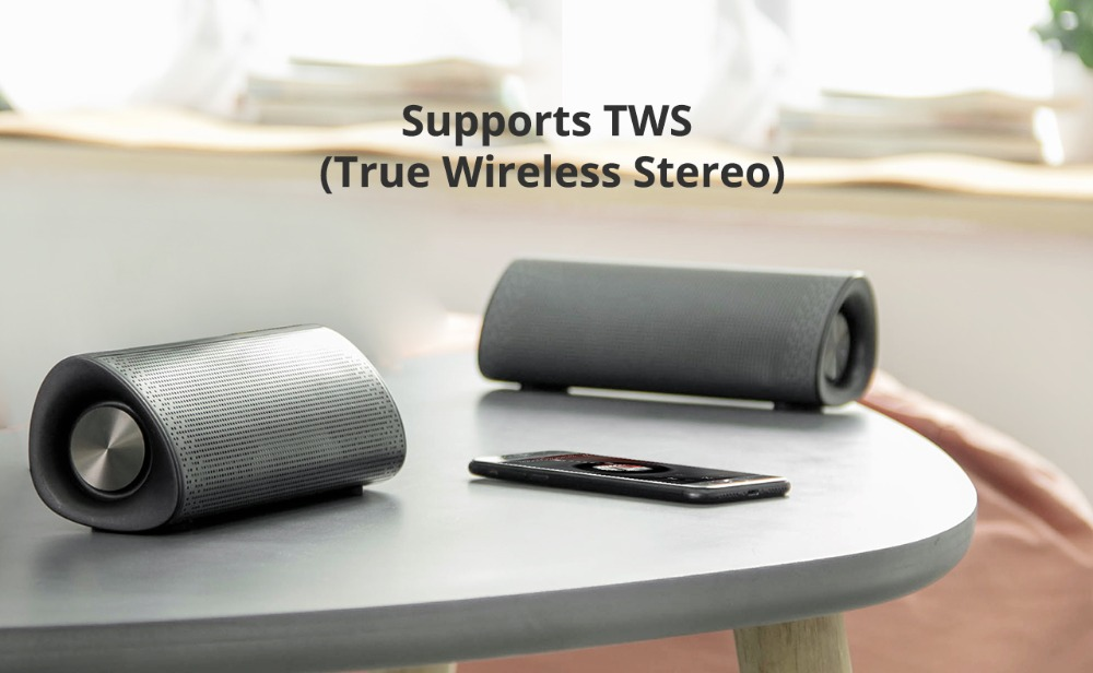3Tronsmart Element Pixie Bluetooth Speaker TWS Soundbar Portable Speaker Subwoofer Speakers Double Passive 20W Wireless Speaker