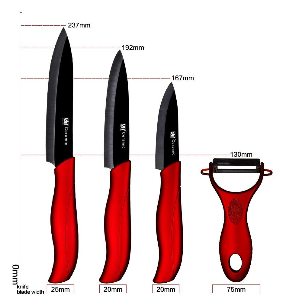 XYj Kitchen Knife Ceramic Knife Set 3 3