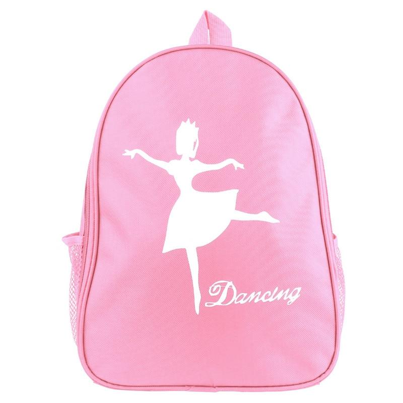 Kids Girls Pink Lovely Fashion Ballet Bags For Girls Students School Backpack Ballet Dance Gym Dancing Shoulder Bag
