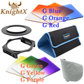 KnightX Graduated cokin p series camera filter color for canon nikon D3100 D5200 D5100 D90 sony NEX 3 5 7 52 55 58 62 67 77 mm
