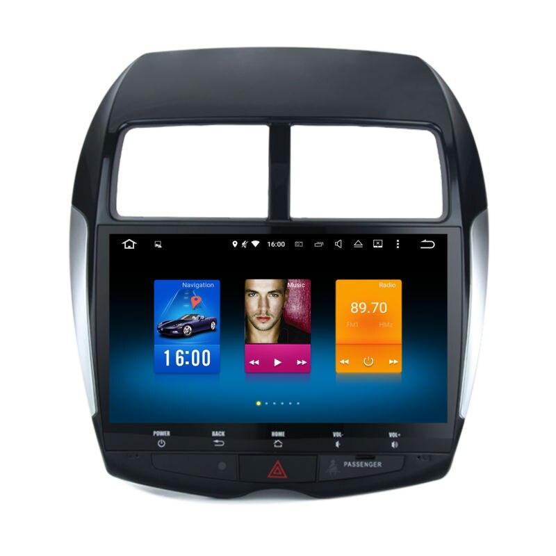 Car 2 din android font b GPS b font for Mitsubishi ASX Citroen C4 autoradio navigation