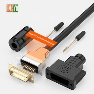 Image 2 - DVI ذكر إلى 24 + 1or 24 + 5 DVI D الذكور محول الفيديو كابل الذهب مطلي 1080P ل HDTV DVD العارض 1.5m 3m 5m 10m 15m 20m