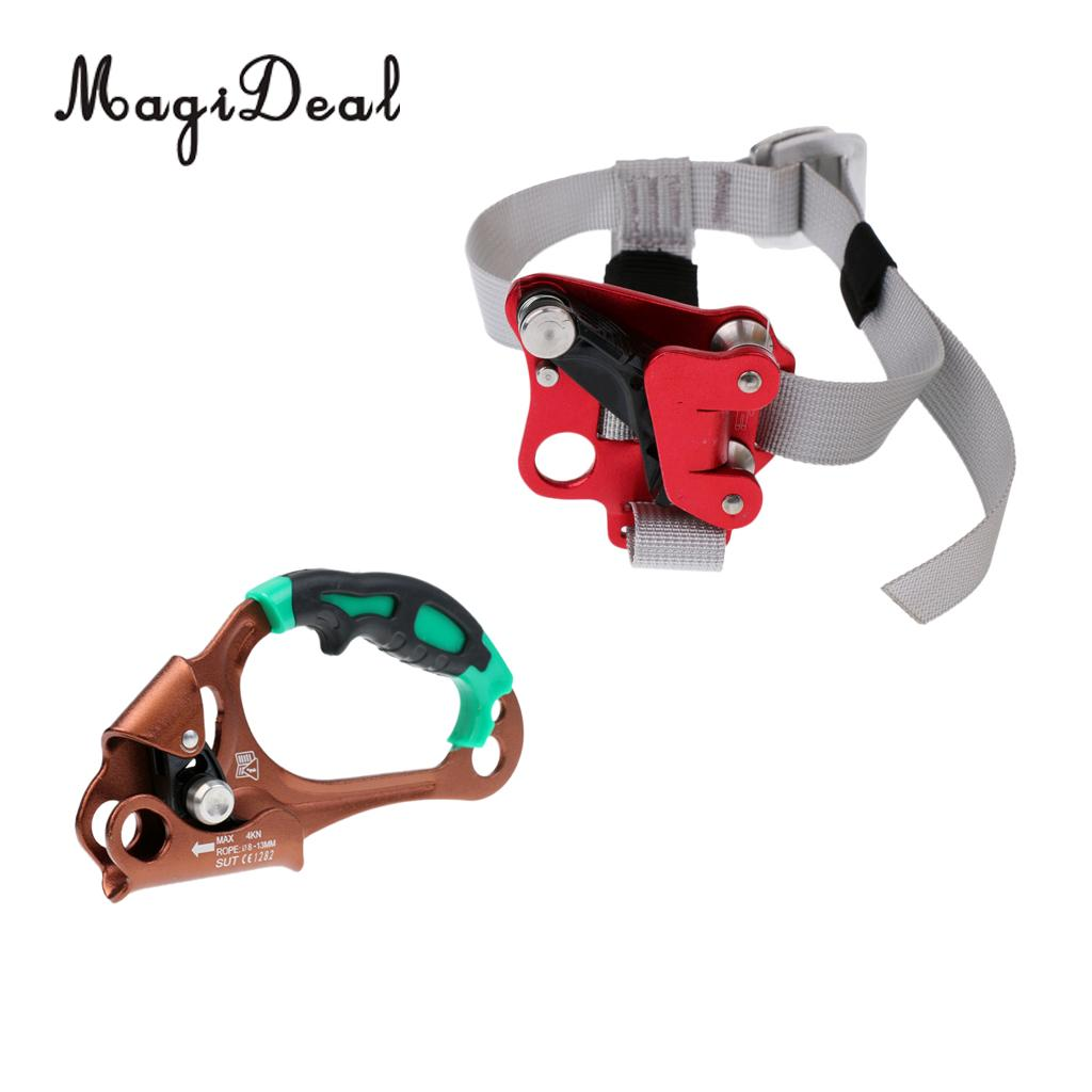 Safety Outdoor Tree Rigging Climbing Tree Surgeon Right Hand Right Foot Rope Clamp Ascender Riser Device