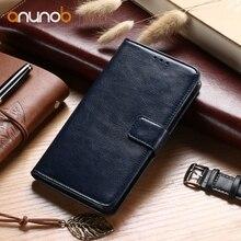 Anunob For Oukitel K6000 Pro Case C8 U7 Plus K10000 C5 C3 K3 U15 U16 Max U22 Cover Leather Phone Hood Shell Bag