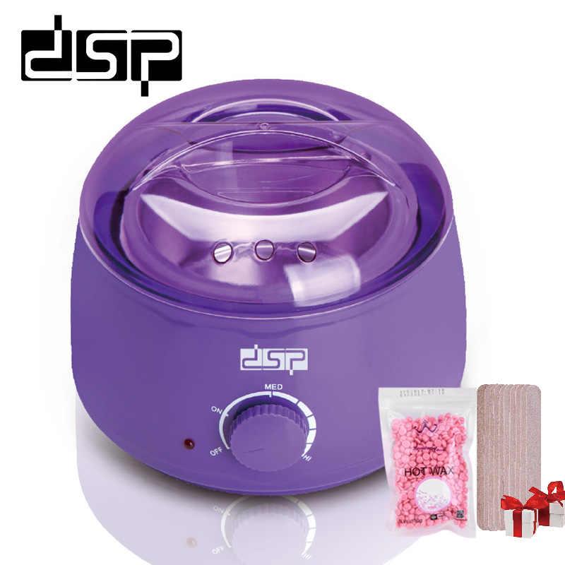DSP Parafin Isıtıcı Ağda Makinesi Epilasyon ağda ısıtıcı + 100g Hiçbir Şerit Balmumu Fasulye + 9 adet Spatula Balmumu isıtıcı Isıtıcı