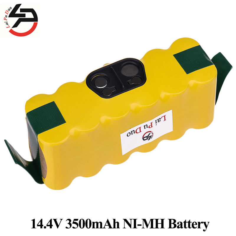 Remplacement Batterie NI-MH 14.4 V 3500 mAh pour iRobot Roomba 500 560 530 510 562 550 570 500 581 610 770 760 780 790 880 Cleaner