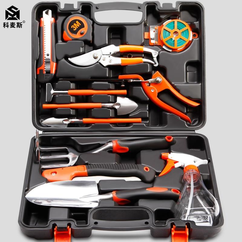 Garden tool set iron shovel balcony flower trim home hardware toolbox