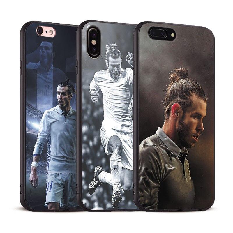 Gareth Bale Coque Cool For Apple iPhone X 8Plus 8 7Plus 7 6SPlus 6s 6Plus 6 Se 5s 5 Soft Silicone Tpu Phone Case Shell Cover