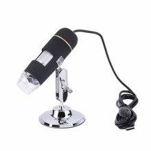 Высокое Качество 50X-500X 2-МЕГАПИКСЕЛЬНАЯ USB 8 СВЕТОДИОДНЫЙ Цифровой Микроскоп Эндоскопа Лупа Камеры 30fps Горячей Продаж