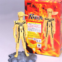 1pc/lot Naruto Action Figures PVC Collection Model Toy Anime Action Figures Toys Kurama Model With Base 24cm