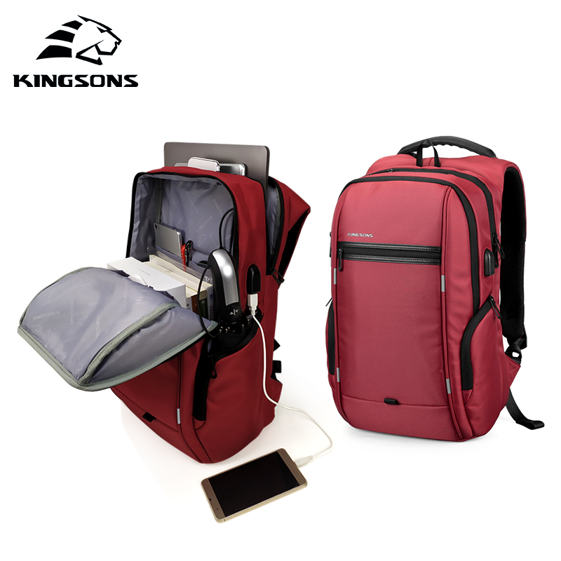 KINGSONS 2019 New 13 15 Inch Laptop Backpack Girls Women Fashion Backpack Business Leisure Travel Student BackpackKINGSONS 2019 New 13 15 Inch Laptop Backpack Girls Women Fashion Backpack Business Leisure Travel Student Backpack