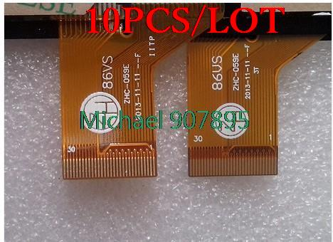 10pcS 86VS ZHC 059E touch screen capacitive hand screen brand new 186 111 YL CG015 Fpc