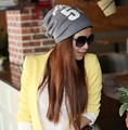 Fashion Spring Autumn Winter Women Hat Scarf Letters Hip-Hop Women Beanies Hat Cotton Hedging Cap Men Free Shipping