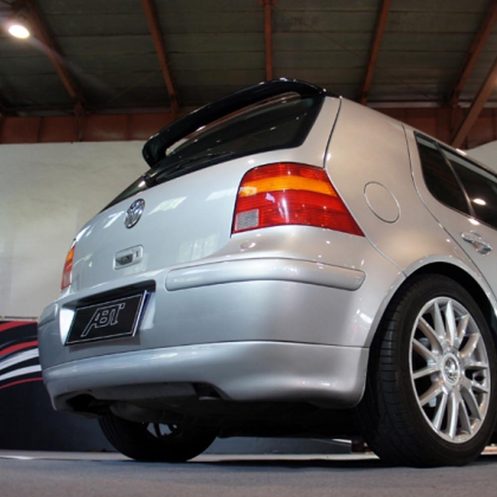 Golf 4 ABT Style Carbon Fiber Rear Roof Spoiler Wing for Volkswagen VW MK4 Hatchback 1997 2004