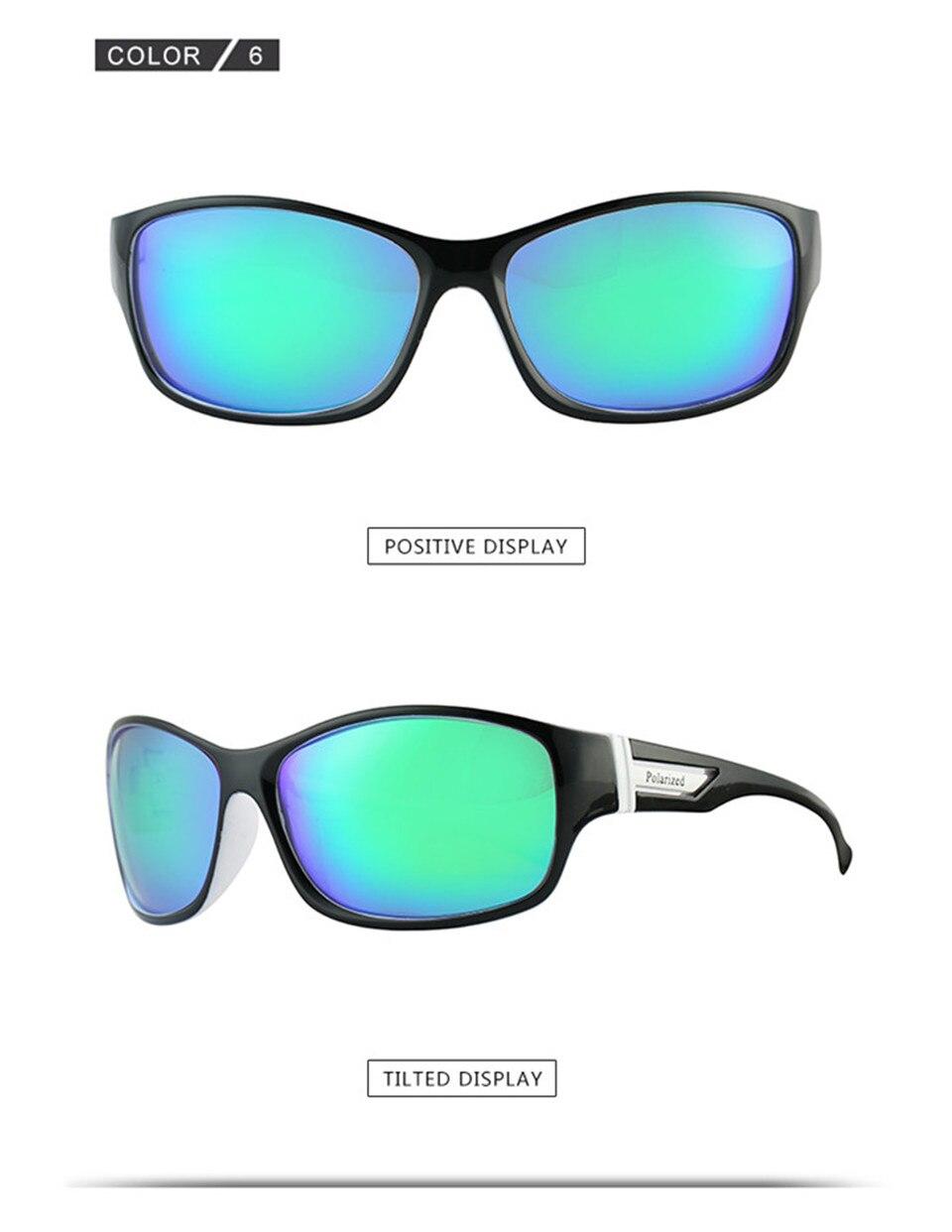 RILIXES 2018 Fashion Guy\'s Sun Glasses From Kdeam Polarized Sunglasses Men Classic Design All-Fit Mirror Sunglass (12)