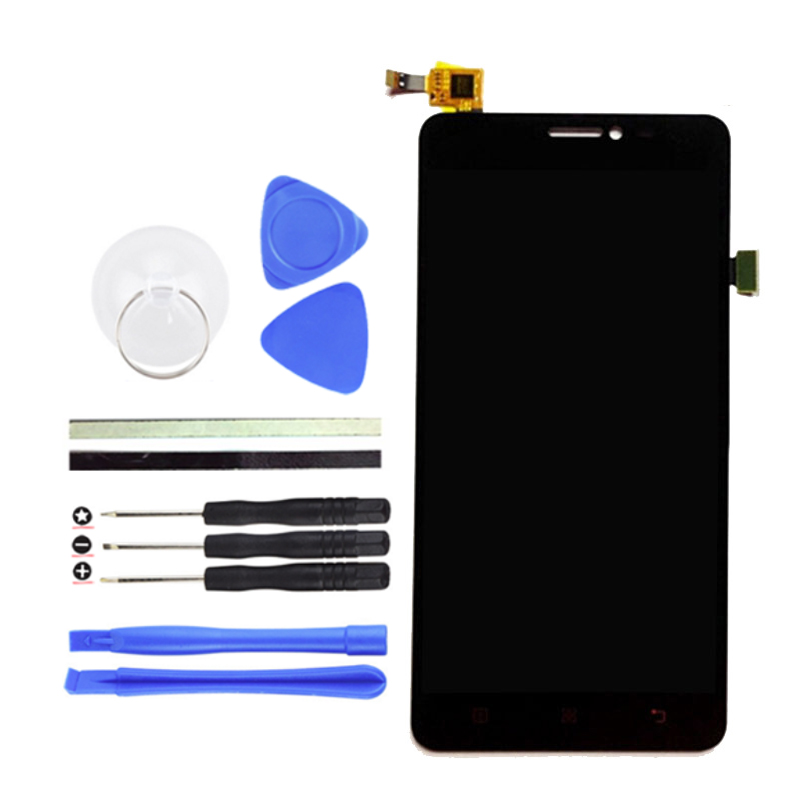 Top Quality For Lenovo LCD Display Touch Screen Digitizer Assembly Replacement For Lenovo S850 Cell Phone Parts +Free Tools high quality 5 3 for lenovo s898 s898t lcd display touch screen digitizer assembly replacement tools free shipping